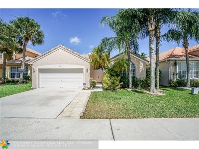 Margate Single Family Home Backup Contract-Call LA: 3410 Greenview Ter