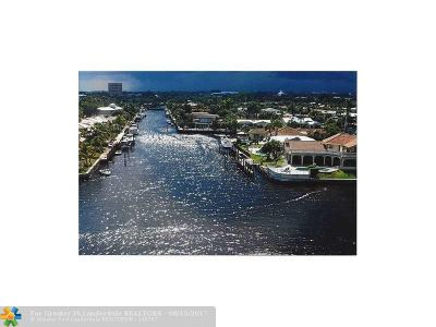 Pompano Beach Condo/Townhouse For Sale: 201 N Riverside Dr #205