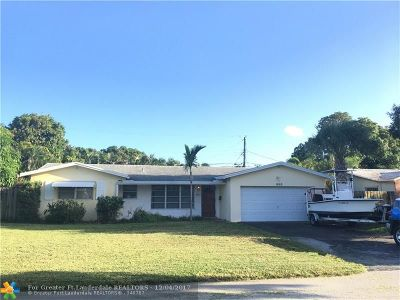 Fort Lauderdale Single Family Home For Sale: 1660 NE 55th St