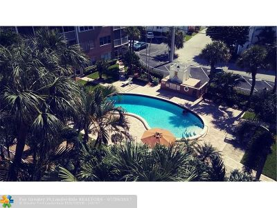 Lauderdale By The Sea Condo/Townhouse For Sale: 4117 Bougainvilla Dr #508