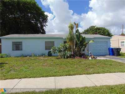 North Lauderdale Single Family Home Backup Contract-Call LA: 6140 SW 16th St