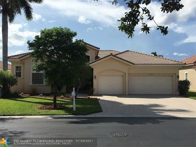 Coral Springs Single Family Home For Sale: 12243 NW 49th St