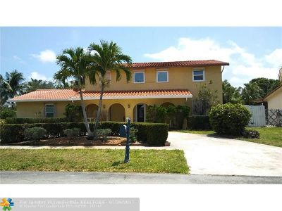 Coconut Creek Single Family Home For Sale: 4000 NW 9th Ct