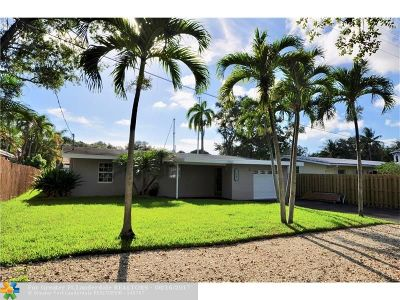 Fort Lauderdale Single Family Home For Sale: 1467 SW 18th Ter