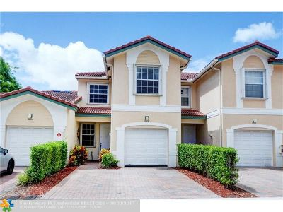 Coral Springs Condo/Townhouse Backup Contract-Call LA: 11608 NW 47th Ct #11608