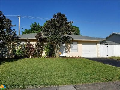 North Lauderdale Single Family Home For Sale: 550 SW 81st Ter