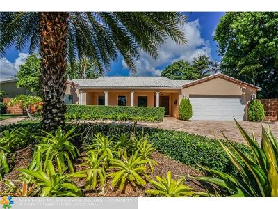 Coral Ridge, Coral Ridge 21-50 B, Coral Ridge Add, Coral Ridge Country Club Single Family Home For Sale: 4209 NE 22nd Ave