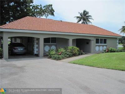 Pompano Beach Condo/Townhouse For Sale: 2911 N Palm Aire Dr #2911