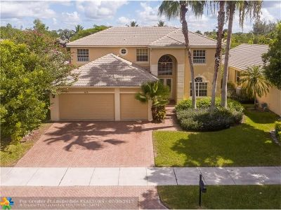 Coconut Creek Single Family Home For Sale: 5173 NW 74th Ct