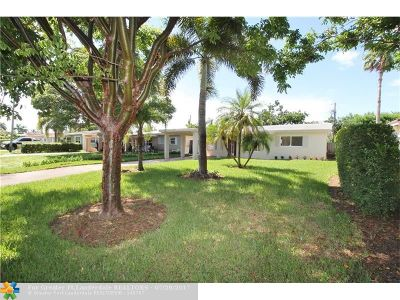 Oakland Park Single Family Home For Sale: 81 NW 45th Ct