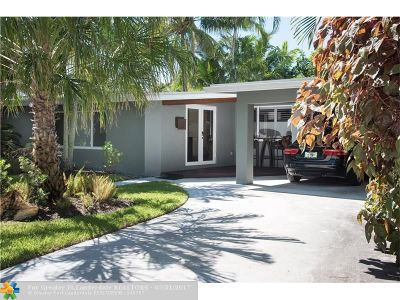 Fort Lauderdale Single Family Home For Sale: 1786 NE 20th St