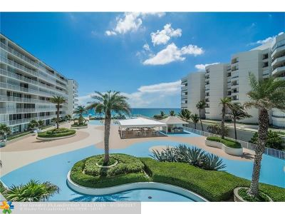 South Palm Beach Condo/Townhouse For Sale: 3546 S Ocean Blvd #409