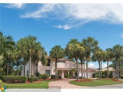 Coral Springs Single Family Home For Sale: 3201 NW 108th Dr