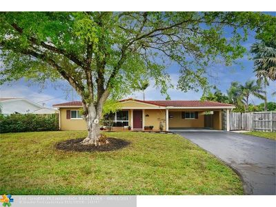 Oakland Park Single Family Home For Sale: 4521 NE 15th Ave