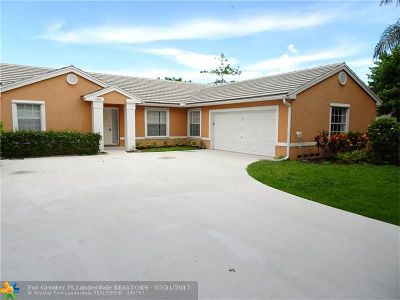 Miramar Single Family Home For Sale: 1911 SW 135 Wy