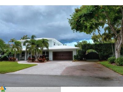 Coral Ridge, Coral Ridge 21-50 B, Coral Ridge Add, Coral Ridge Country Club Single Family Home For Sale: 4000 NE 29th Ave