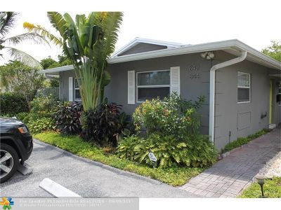Fort Lauderdale Multi Family Home Backup Contract-Call LA: 842-844 SW 12th Ct