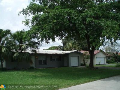Coral Springs Single Family Home For Sale: 3870 NW 78th Ter