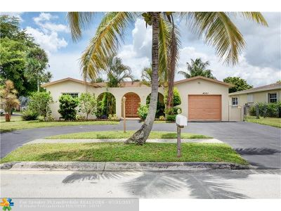 Margate Single Family Home Backup Contract-Call LA: 4951 SW 7th St
