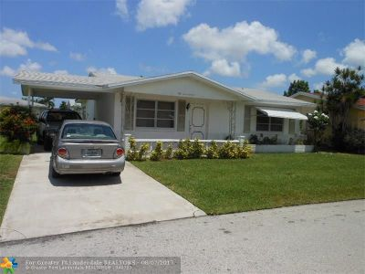 Tamarac Single Family Home For Sale: 5720 NW 69th Ave