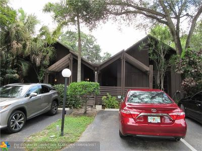 Plantation Condo/Townhouse For Sale: 509 N University Dr #6