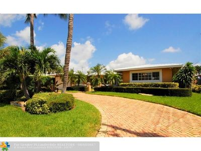 Pompano Beach Single Family Home For Sale: 2611 NE 4th St