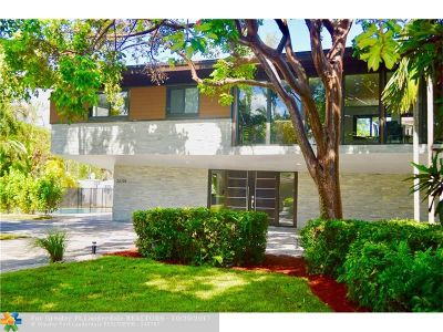 Fort Lauderdale Single Family Home For Sale: 2601 NE 8th St