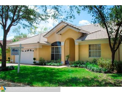 Coconut Creek Single Family Home For Sale: 5061 NW 45th Ter