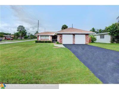 Pompano Beach Single Family Home For Sale: 1301 SE 2nd St