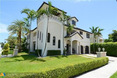 Fort Lauderdale Single Family Home For Sale: 602 Poinciana Dr
