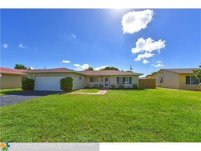 Plantation Single Family Home For Sale: 232 NW 42nd Ter