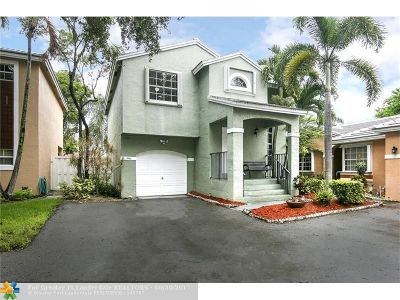 Plantation Single Family Home For Sale: 9896 NW 2nd Ct