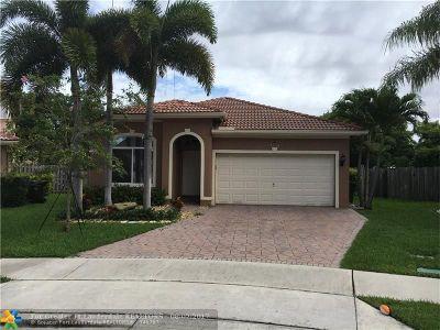 Coconut Creek Single Family Home Backup Contract-Call LA: 3707 S Pebblebrook Mnr