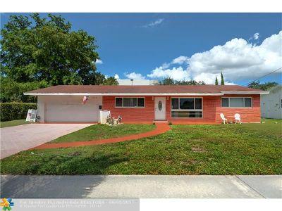 Plantation Single Family Home Backup Contract-Call LA: 440 NW 43rd Ave