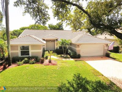 Coral Springs Single Family Home Backup Contract-Call LA: 5011 NW 96th Dr