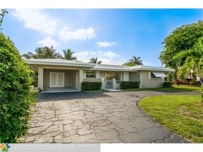 Wilton Manors Single Family Home For Sale: 2200 NE 20th Ave