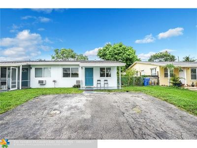 Oakland Park Single Family Home For Sale: 510 NE 58 Street
