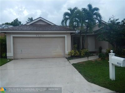 Coral Springs Single Family Home For Sale: 9557 NW 24th Ct