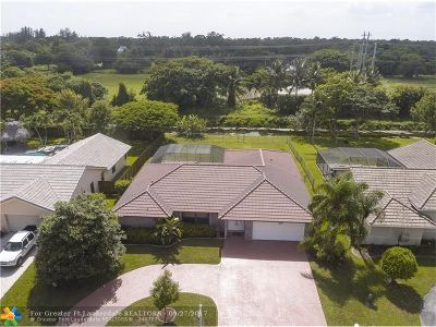Coral Springs Single Family Home Sold: 5462 NW 66th Ave