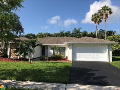 Plantation Single Family Home For Sale: 9690 NW 17 Street