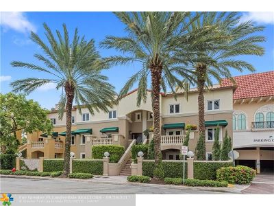 Fort Lauderdale Condo/Townhouse For Sale: 309 Tarpon Dr #309