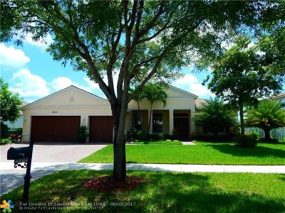 Cooper City Single Family Home For Sale: 4802 Citrus Way