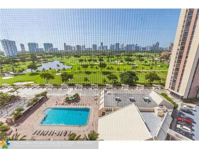 Aventura Condo/Townhouse For Sale: 20301 W Country Club Dr #1528