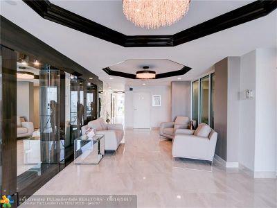 Sunny Isles Beach Condo/Townhouse For Sale: 18000 N Bay Rd #402