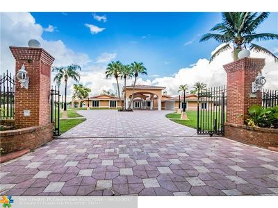 Miramar Single Family Home For Sale: 3850 SW 128 Th Ave