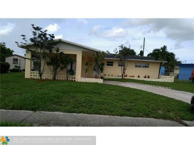 Lauderdale Lakes Single Family Home Backup Contract-Call LA