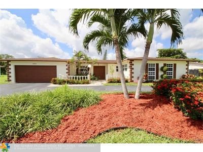 Margate Single Family Home Backup Contract-Call LA: 6800 Curry Cir