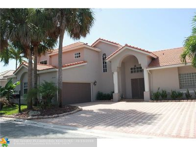 Boca Raton Single Family Home For Sale: 10950 Handel Pl