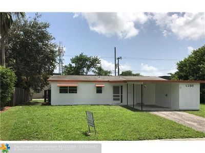 Sunrise Single Family Home For Sale: 6298 NW 12th St