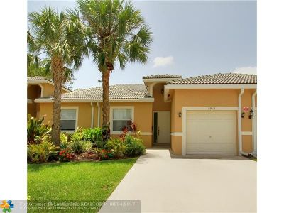 Coral Springs Condo/Townhouse Backup Contract-Call LA: 8912 NW 40th Street #8912
